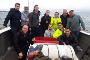 Paul Mc Carthy and Crew from Amcour Sports and Social had an enjoyable evening!